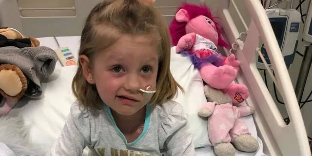 "Myla Mae Hatcher was diagnosed with ""severe aplastic anemia"" just before Christmas 2017."