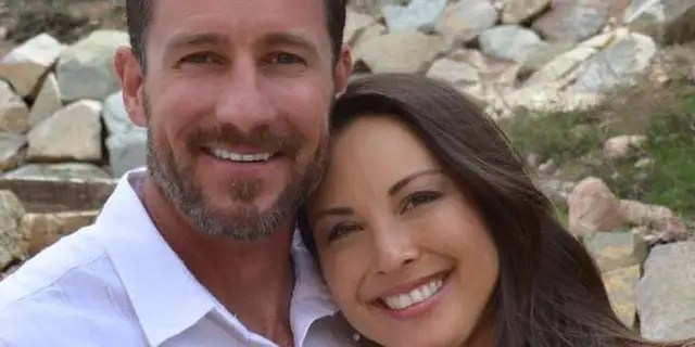 Bryant Swenson and his wife (pictured)Lauren , from Utah, were driving near Mai Mahiu on November 30 when three masked men attacked their car<br>