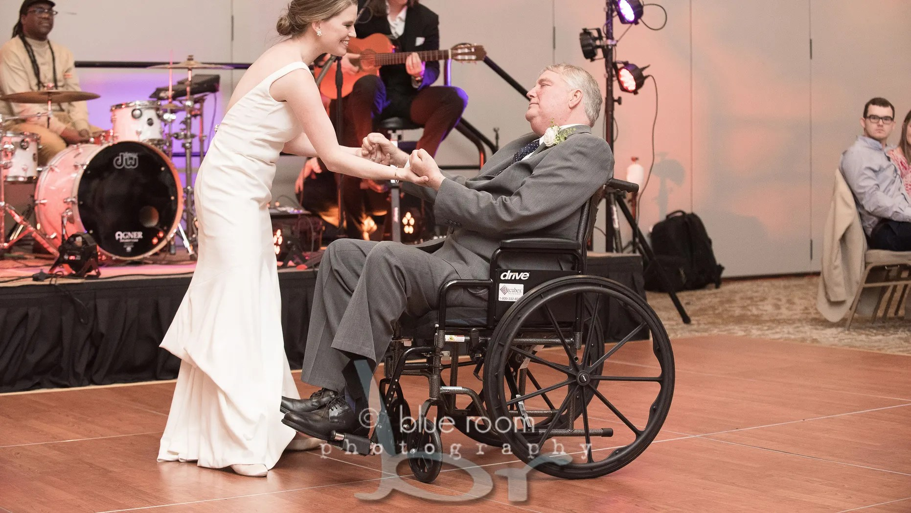 VIRAL VIDEO: Bride Dances With Her Terminally ill Dad In Traditional Father-Daughter Wedding Dance
