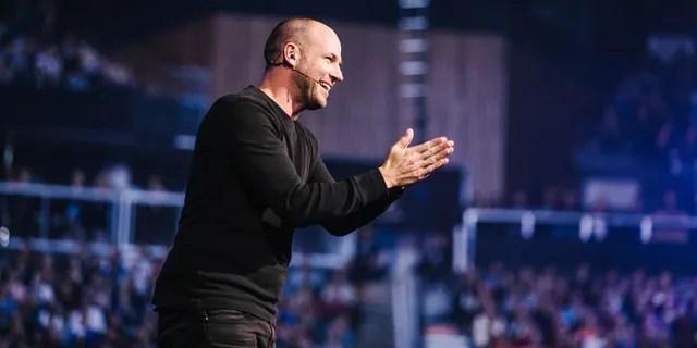 Brad Jones, global ambassador for Passion conferences, speaking at Passion 2019.