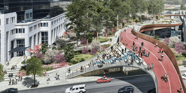 One proposal in Buckhead would create a 9-acre park on top of GA-400 for an estimated $250 million.
