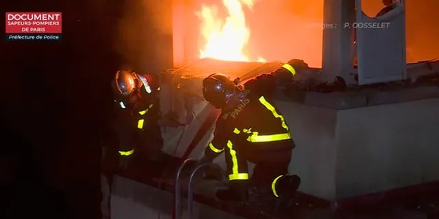 Some 250 firefighters were deployed to the scene, helping rescue some from the roof as well as others who had clambered out of windows to escape the flames.