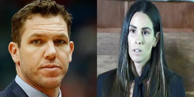 Der ehemalige Trainer von Los Angeles Lakers, Luke Walton, wurde von Ex-Reporter Kelli Tennant wegen sexuellen Übergriffs angeklagt.