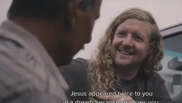 "Sean Feucht, the founder of The Light A Candle Project, told an Iraqi Christian who was tortured by ISIS that Jesus appeared to him in his dreams because he loves him. His story was their first supernatural encounter documented in an upcoming documentary with Bethel Music called ""Heart and Hands: Iraq."""