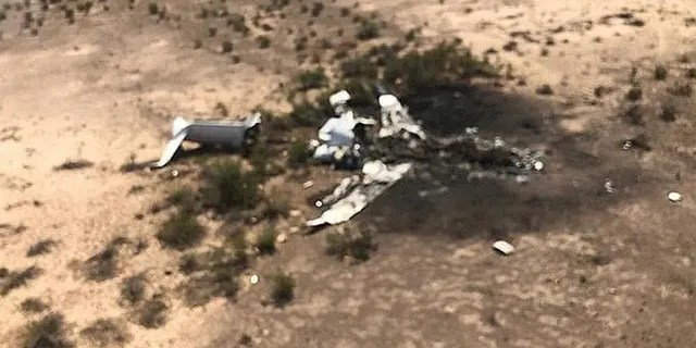 A jet flying from Las Vegas with more than a dozen people aboard crashed in northern Mexico, authorities said on Monday.
