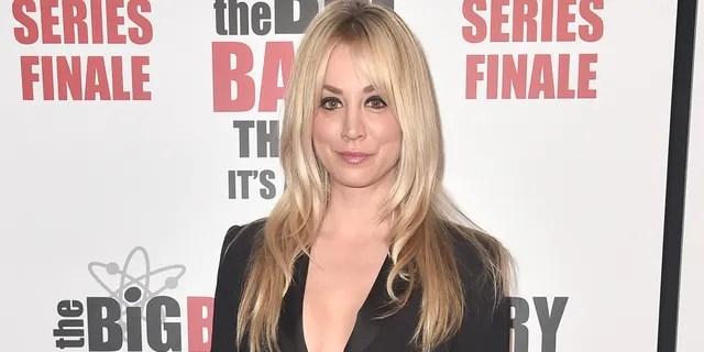 Kaley Cuoco said she would be up for a 'Big Bang Theory' reunion.