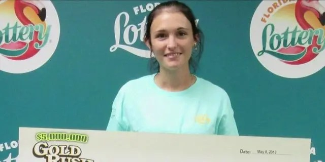 Last May, Karlee Harbst won $  1 million in the Florida Lottery's Gold Rush game, according to reports. (Florida Lottery)