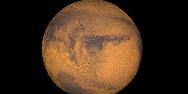 The planet Mars showing Terra Meridiani is seen in an undated NASA image. REUTERS/NASA/Greg Shirah