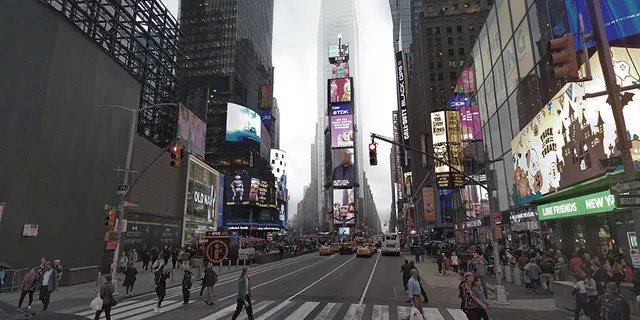 Times Square today. (Barratt Homes)