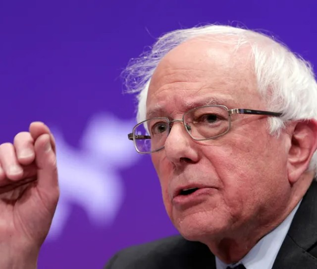 Bernie Sanders Pushes For Drastic Change We Need A Political Revolution