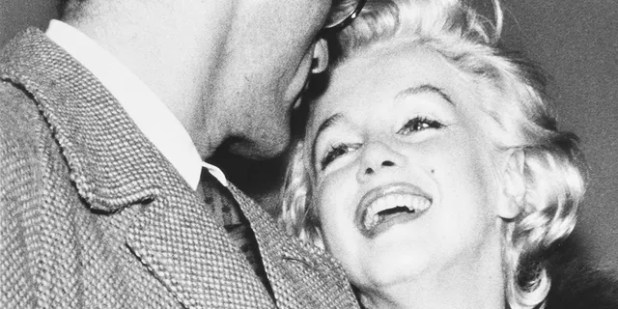 Marilyn Monroe with then-husband Arthur Miller. — Courtesy of Julien's Auctions