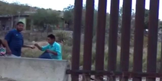 U.S.-Mexico border in Sunland Park, New Mexico