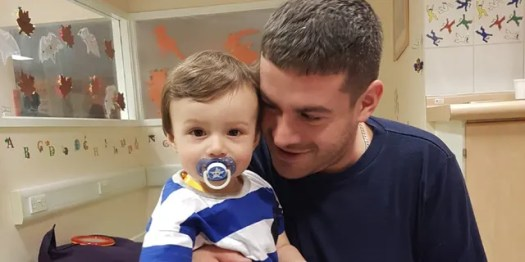His parents are now urging people to sign up as potential stem cell donors with blood cancer charity Anthony Nolan as there is currently no one on the list who is a perfect match for Alfie.