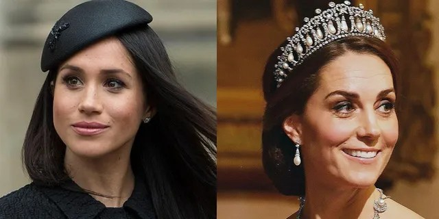 Reports have long insisted that the Duchess of Sussex (left) and the Duchess of Cambridge were feuding.