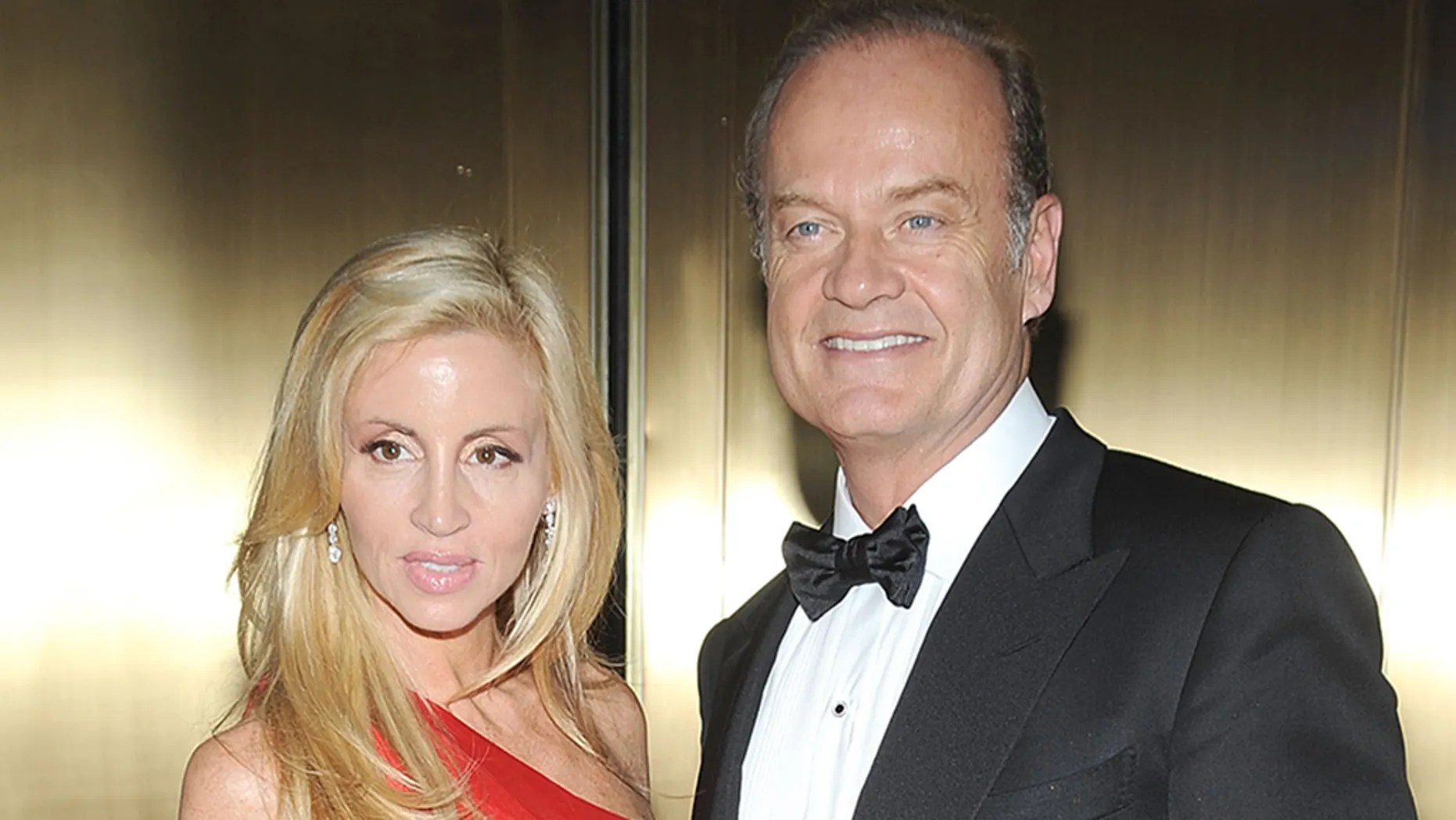 Kelsey Grammer, right with then-wife Camille Grammer at the 64th Annual Tony Awards at Radio City Music Hall on June 13, 2010 in New York City.