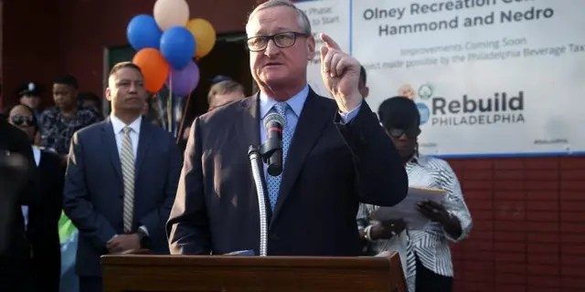 Philadelphia Mayor Jim Kenney did not mince words Tuesday when speaking about President Trump.