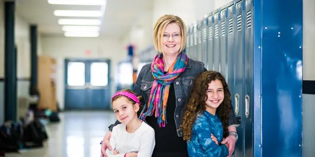 Kendra Espinoza and her daughters. Espinoza is a plaintiff in a school choice case that's made its way to the Supreme Court. (Institute for Justice)