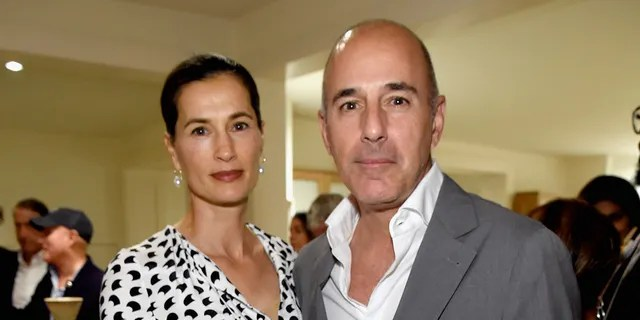 Annette Roque and Matt Lauer were married from 1998-2019. (Photo by Kevin Mazur/Getty Images for The Apollo)
