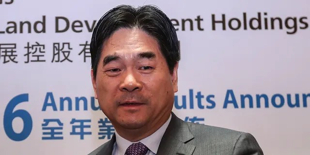 Wang Zhenhua is pictured in 2016. (Photo by Edward Wong/South China Morning Post via Getty Images)