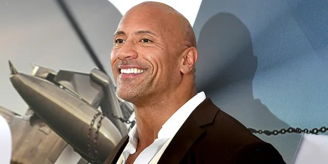 """Dwayne Johnson arrives at the premiere of Universal Pictures' """"Fast & Furious Presents: Hobbs & Shaw"""" at Dolby Theater."""
