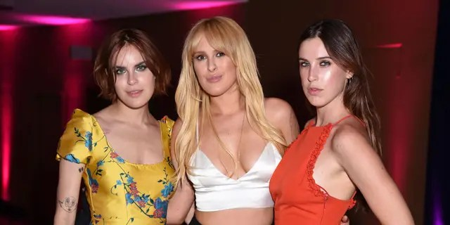 (L-R) Tallulah Willis, Rumer Willis and Scout Willis attend the Comedy Central Roast of Bruce Willis at Hollywood Palladium on July 14, 2018, in Los Angeles, California. (Photo by Presley Ann/VMN18/Getty Images For Comedy Central)