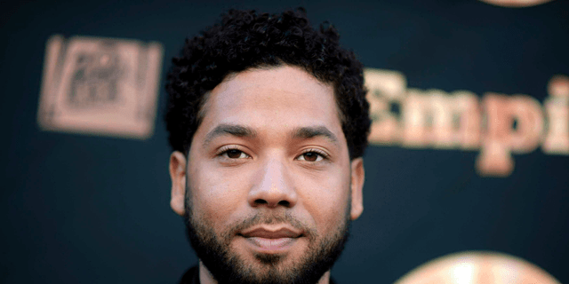 Jussie Smollett has been accused of staging a hate crime against himself. (Richard Shotwell/Invision/AP, File)