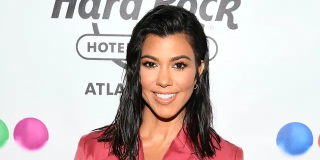 Kourtney Kardashian is receiving backlash after she publicly supported brother-in-law Kanye West's presidential campaign by sporting a 'Vote Kanye ball cap.(Photo by Dave Kotinsky/Getty Images for Sugar Factory American Brasserie)