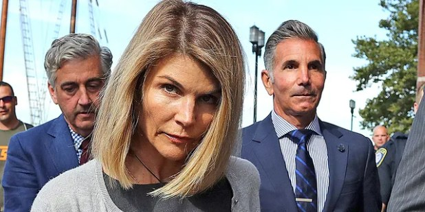 Lori Laughlin and husband Mosimo Giannulli left the John Joseph Mockley United States Courthouse in Boston on August 27, 2019.  57-year-old Giannulli is currently serving his five-month prison sentence in Leocoke, California.