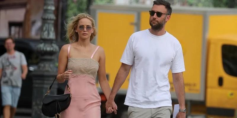 Jennifer Lawrence marries Cooke Maroney in Rhode Island wedding