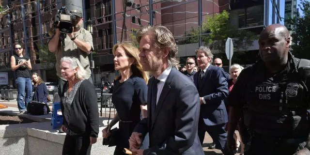 U.S. Attorney Andrew Lelling had pushed for one month behind bars, a year of probation and a $20,000 fine, a sentence he said took into account the fact that Huffman has accepted responsibility for her actions.(Photo by Paul Marotta/Getty Images)