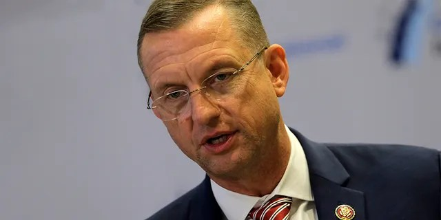 Rep. Doug Collins R-Ga., speaks on a news conference during the House Republican members conference in Baltimore, Thursday, Sept. 12, 2019. (AP Photo/Jose Luis Magana)