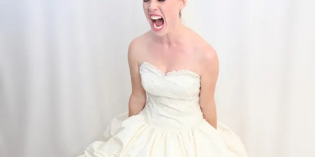 When the bride saw her husband dancing with his mother-in-law during the ceremony, she ran out and was seen crying, ranting and raving.