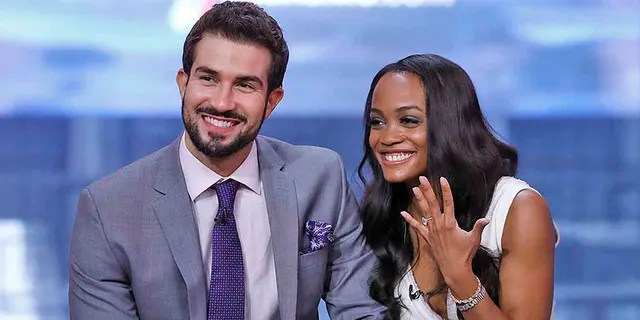 """Rachel Lindsay got engaged to Bryan Abasolo on the finale of """"The Bachelorette."""""""