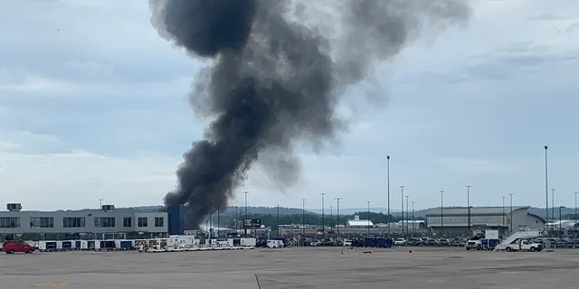 A Boeing B-17 bomber was on tour in the area when it crashed while attempting to land at Bradley International Airport in Connecticut on Wednesday.