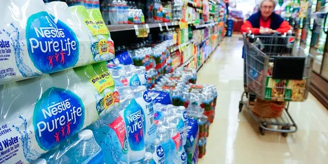 The news comes after The Food and Drug Administration in mid-April issued a statement saying that there's no need to wipe down food packaging after you've returned home from the grocery store. (Getty Images)