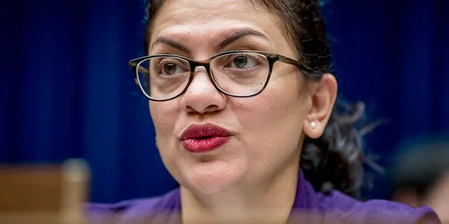 Rep. Rashida Tlaib, D-Mich., once vowed to impeach 'the motherf---er' -- and now is the subject of an Ethics Committee probe. (AP Photo/Andrew Harnik)