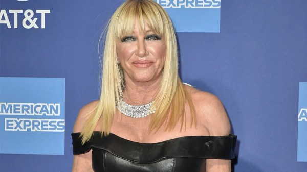 Suzanne Somers rocks