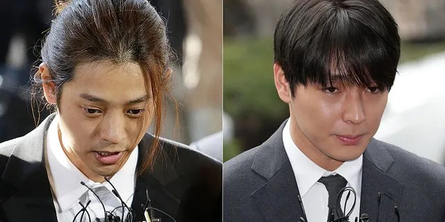 Fox news today: K-pop stars Jung Joon-young, 30, and Choi Jong-hoon, 29,were found guilty of rape and sentenced to six and five years in prison.