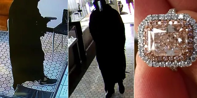 Police in Maui, Hawaii, is seeking to identify the armed thief who held up a jewelry store on Halloween in a mask and robe and made off with three diamonds worth $1 million.