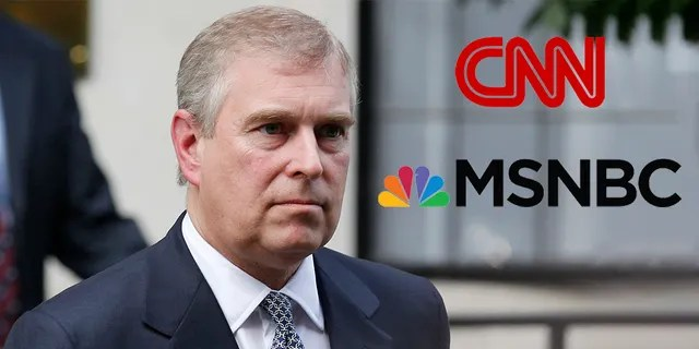 CNN and MSNBC avoided Prince Andrew's bombshell interview that aired last week. (AP Photo/Sang Tan, File)