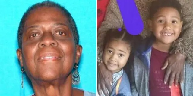 Sandra Young and her grandchildren, Katalyhah and Jayden Hill, have been found safe Thursday, the California Highway Patrol says.