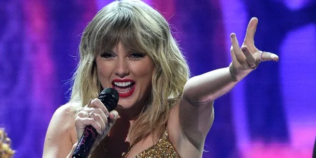 Taylor Swift has not performed at a Country Music Awards show in seven years.  (Photo by Chris Pizzello / Revision / AP)