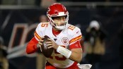 Patrick Mahomes downplays clear jab at Chicago Bears with touchdown celebration