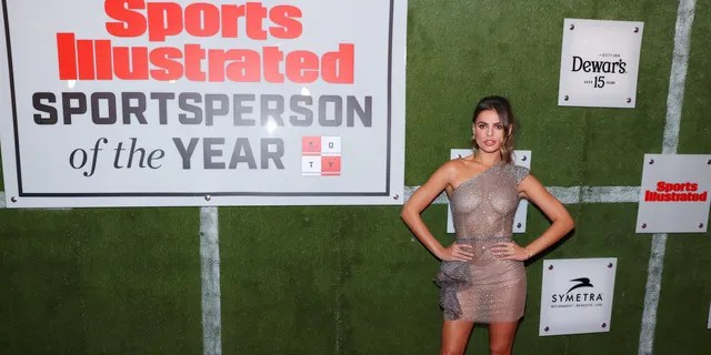 Brooks Nader attends the Sports Illustrated Sportsperson Of The Year 2019 at The Ziegfeld Ballroom on December 09, 2019 in New York City.