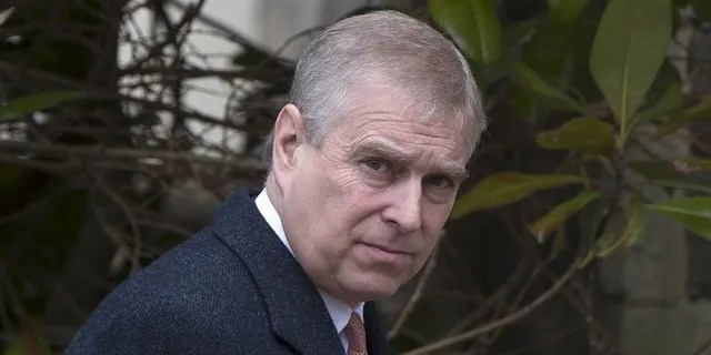 Prince Andrew has since stepped back from royal duties.