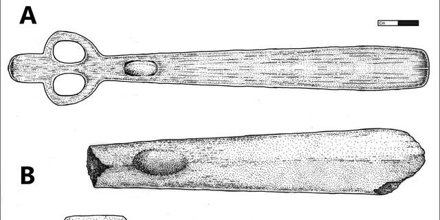 Illustrations of Par-Tee atlatls.