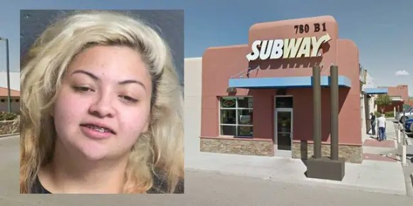 "Lorena Ariana Marin told officers she staged a robbery at the Las Cruces Subway where she worked in order to ""teach one of the employees a lesson about what could happen late at night in that part of town."""
