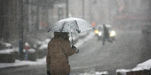 Sleet is known as a combination of a snowflake and water that is frozen, according to forecasters.
