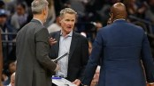 Warriors' Kerr fined for behavior after Sacramento ejection
