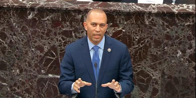 House Democratic Caucus Chairman Hakeem Jeffries, D-N.Y.